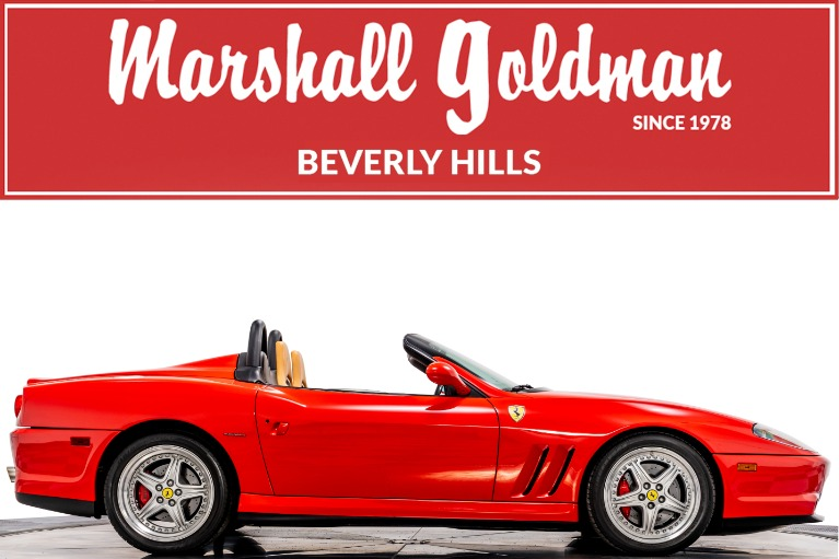 Used 2001 Ferrari 550 Barchetta for sale Call for price at Marshall Goldman Cleveland in Cleveland OH