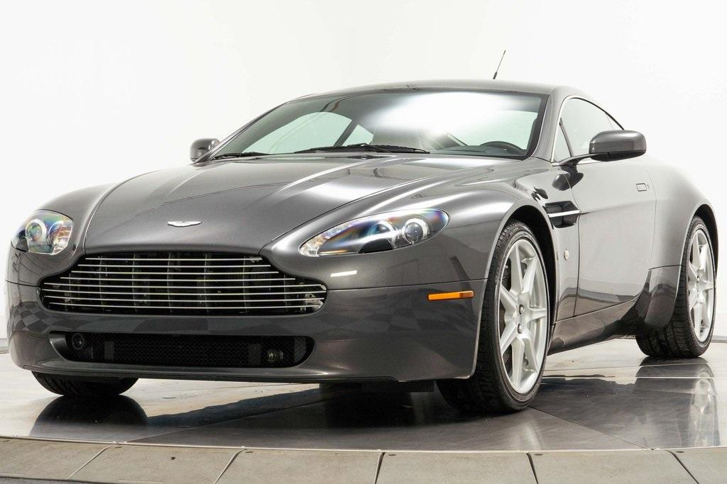 Used 2007 Aston Martin V8 Vantage For Sale Sold Marshall Goldman Cleveland Stock W20587