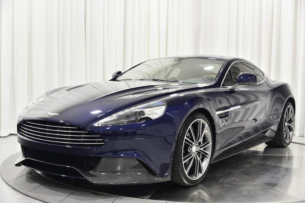 Used 2016 Aston Martin Vanquish For Sale Sold Marshall Goldman Cleveland Stock B20426