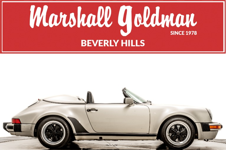 Used 1989 Porsche 911 Speedster for sale $285,900 at Marshall Goldman Cleveland in Cleveland OH