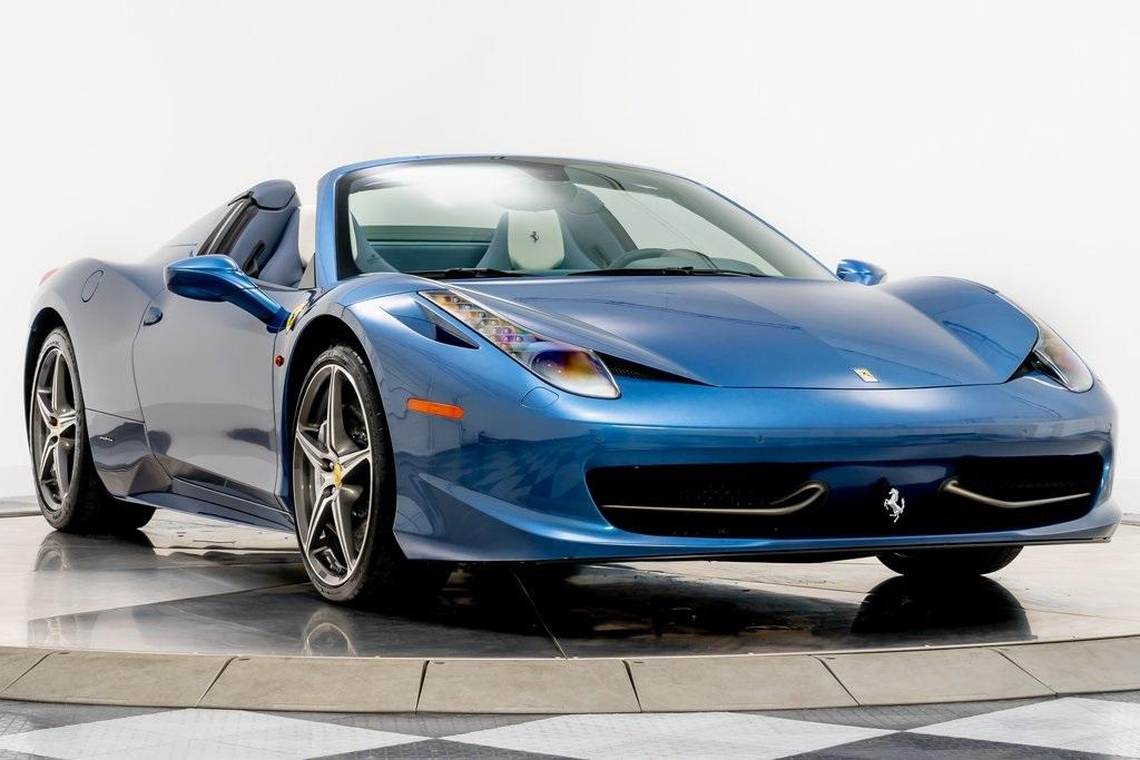 Used 2014 Ferrari 458 Spider For Sale Sold Marshall Goldman Cleveland Stock W21103