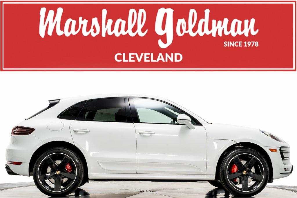 Used 2017 Porsche Macan Turbo For Sale Sold Marshall Goldman Cleveland Stock 19983