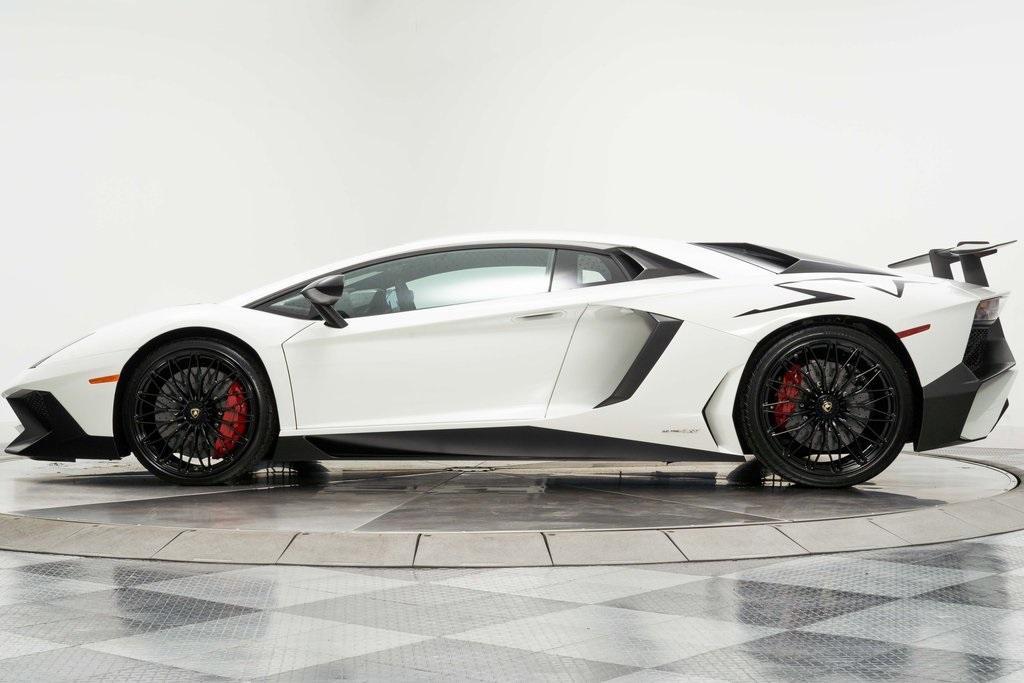Used 2016 Lamborghini Aventador Sv Lp 750 4 Sv For Sale Sold Marshall Goldman Cleveland Stock Stka04956