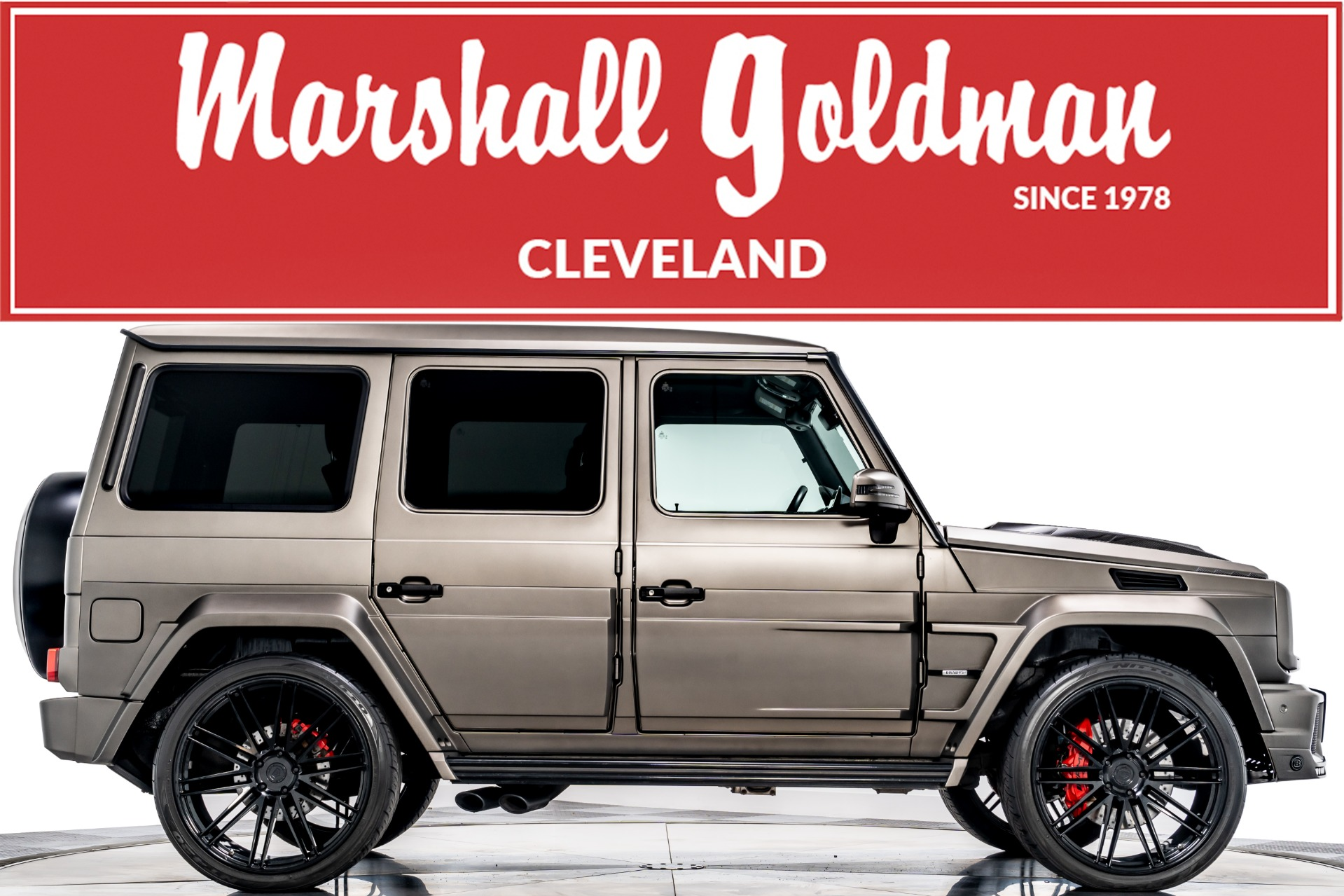 Used 2017 Mercedes Benz G65 Amg Brabus For Sale Sold Marshall Goldman Cleveland Stock W20965
