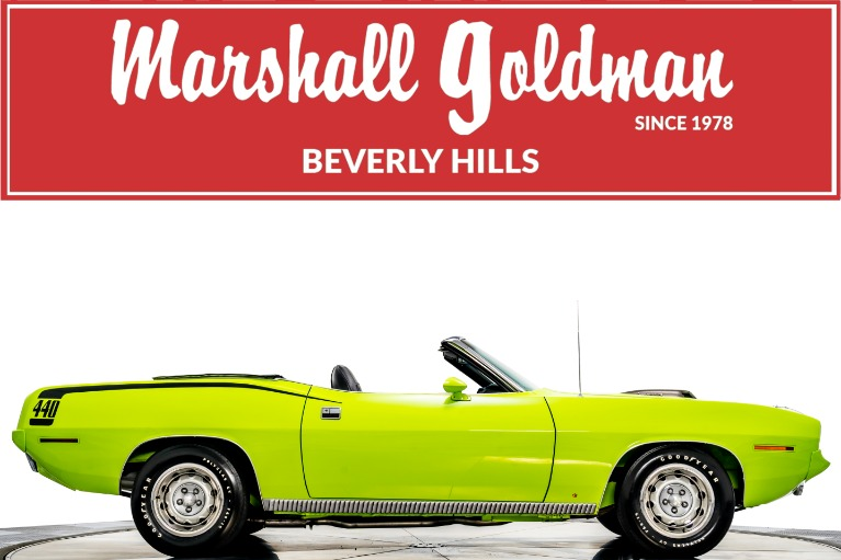 Used 1970 Plymouth Cuda Convertible for sale $199,900 at Marshall Goldman Cleveland in Cleveland OH
