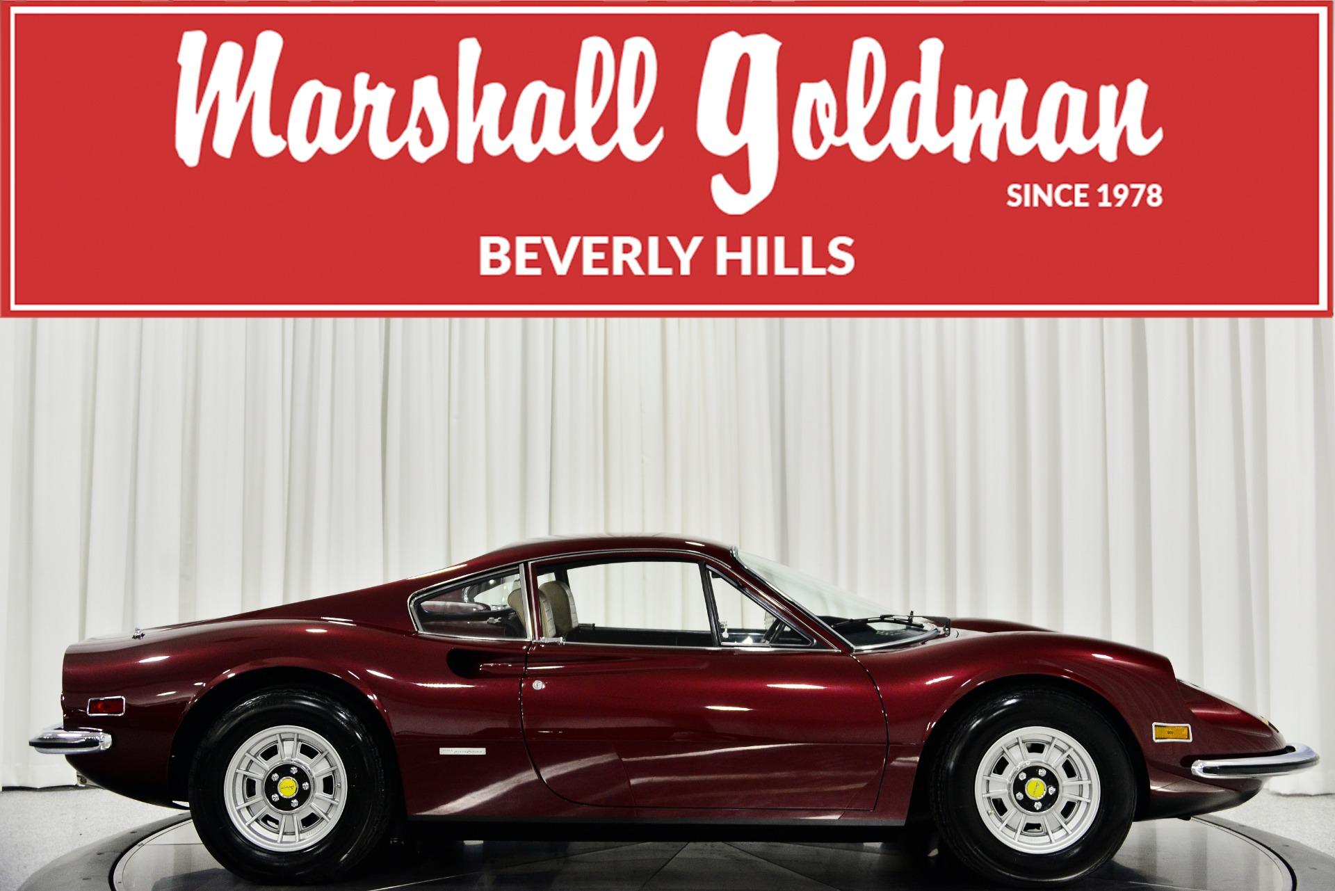 Used 1973 Ferrari Dino 246gt For Sale 395 900 Marshall Goldman Cleveland Stock B20328