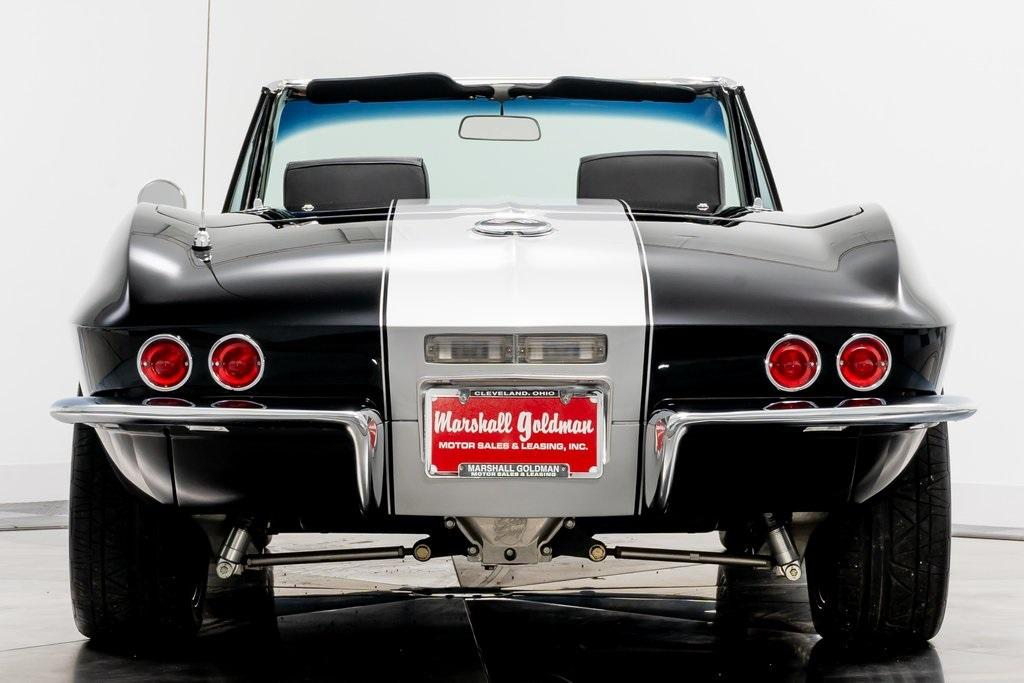 Used 1967 Chevrolet Corvette Restomod For Sale Sold Marshall Goldman Cleveland Stock 20146