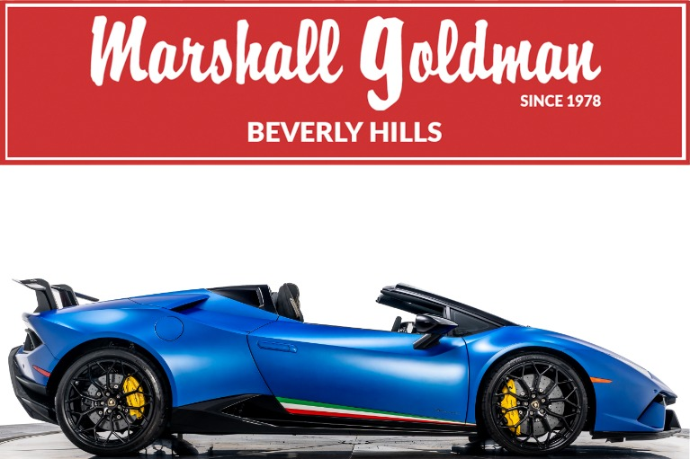 Used 2019 Lamborghini Huracan LP 640-4 Performante Spyder for sale $328,900 at Marshall Goldman Cleveland in Cleveland OH