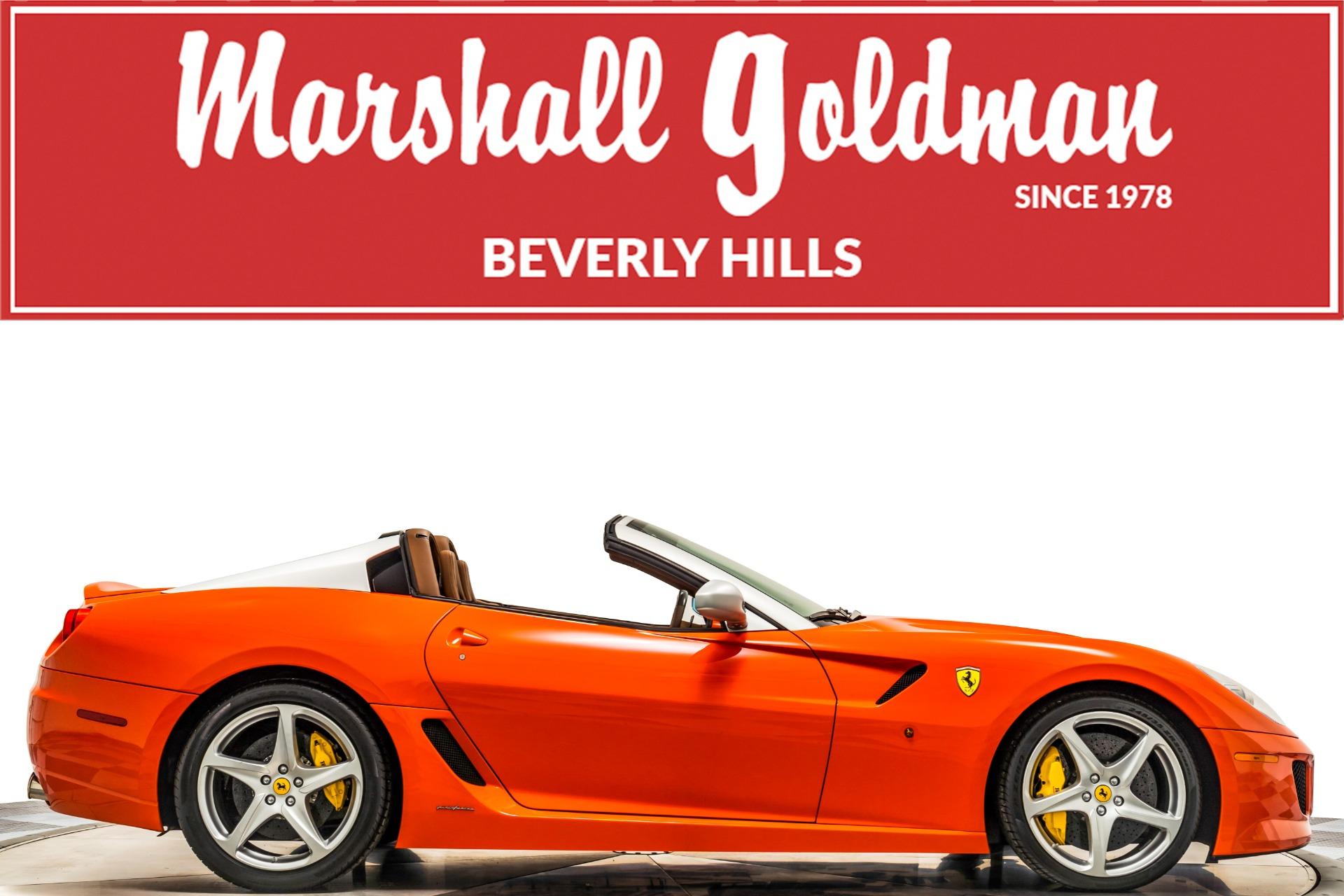 Used 2011 Ferrari 599 Sa Aperta For Sale 1 385 900 Marshall Goldman Cleveland Stock B19899