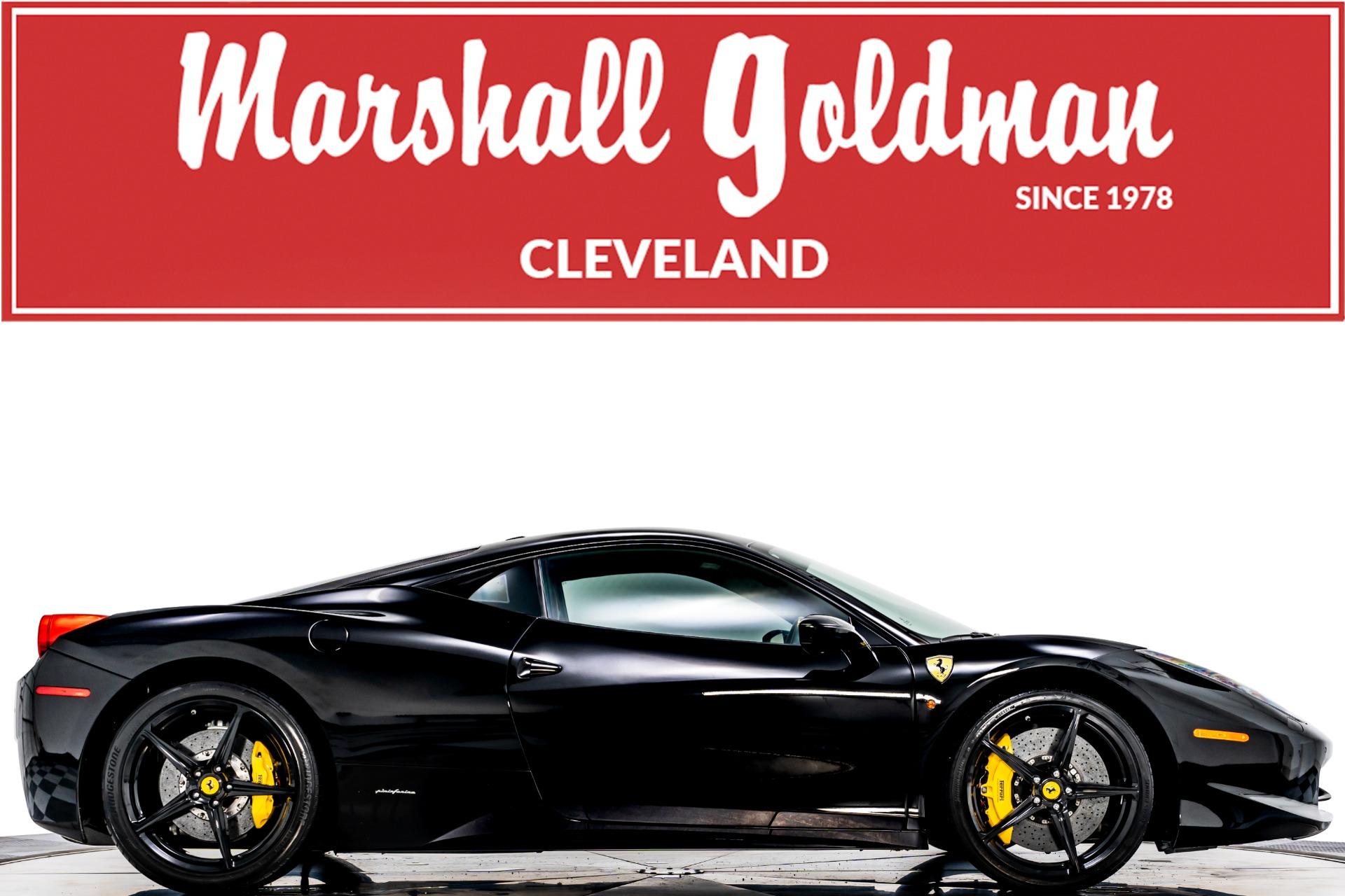 Used 2011 Ferrari 458 Italia For Sale Sold Marshall Goldman Cleveland Stock W21400
